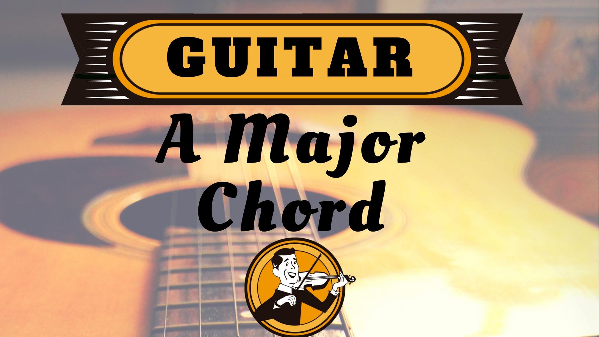 Guitar A Chord