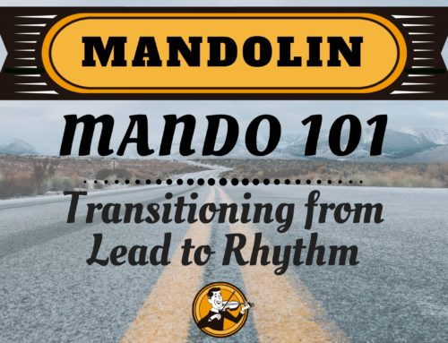 Mandolin 101 | Transitioning from Lead to Rhythm