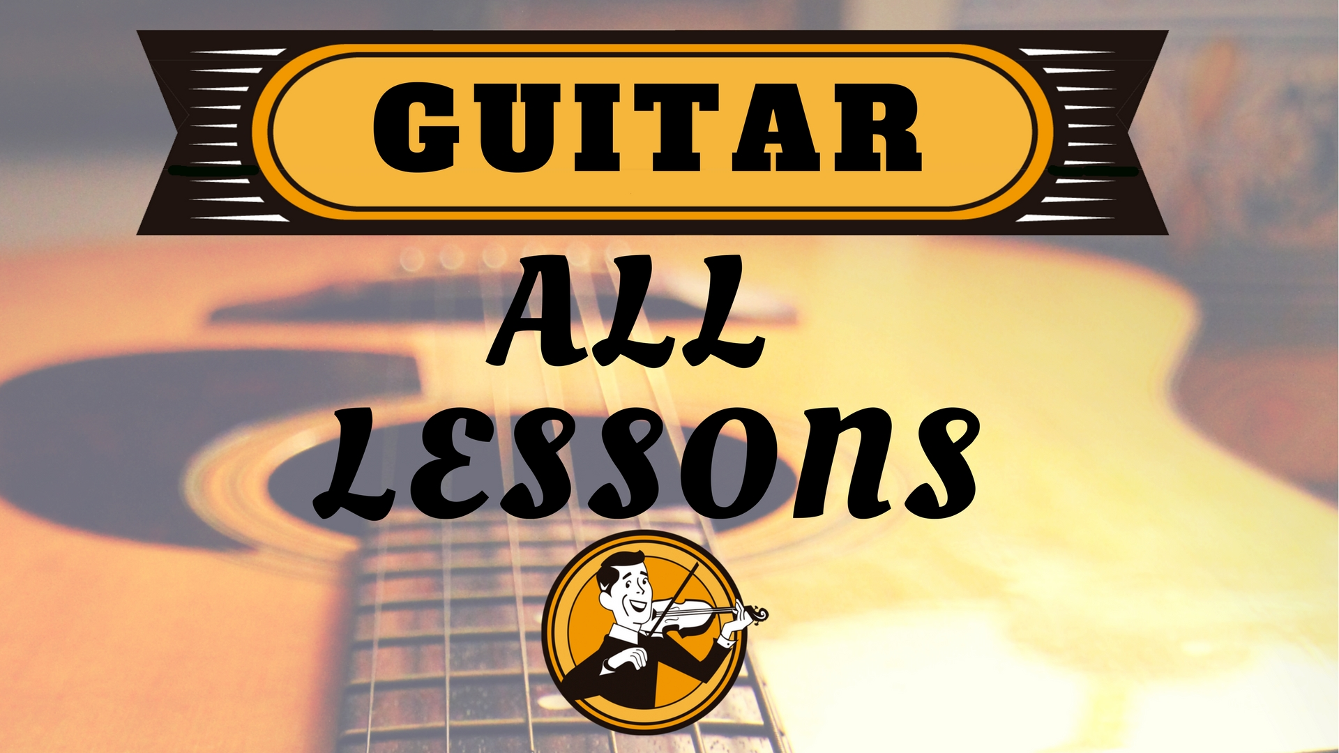 Guitar All Lessons
