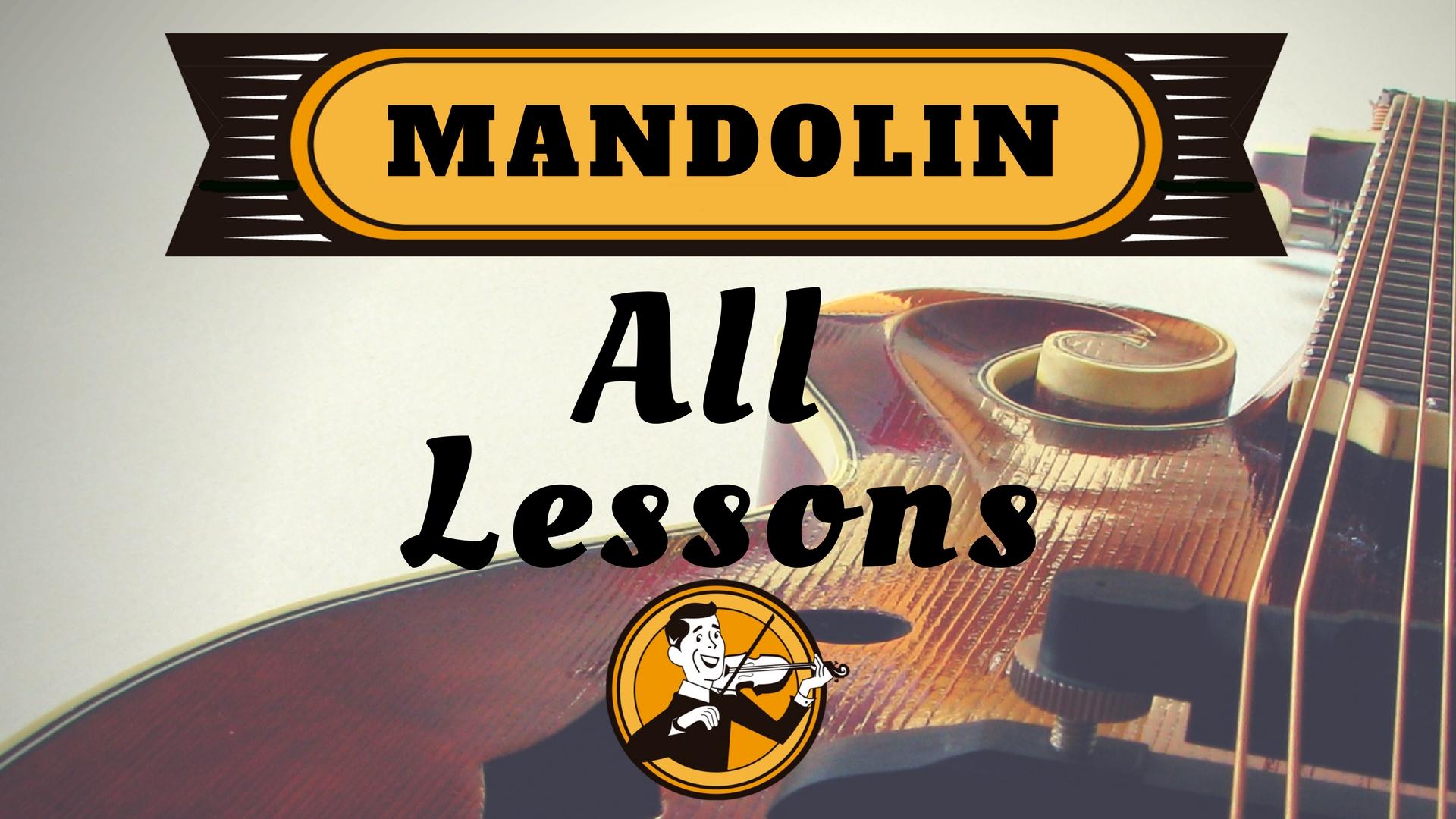 Mandolin All mandolin lessons